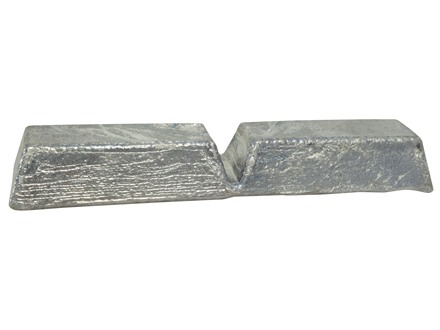 Certified Pure Lead Bullet Casting Alloy Ingot (99.9% Pure) Approximately 6 lb Average Weight