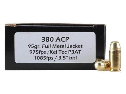 Doubletap Ammunition 380 ACP 95 Grain Full Metal Jacket
