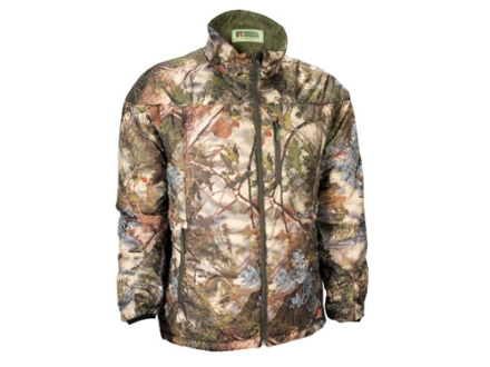 APX Men's L3 Lightning Primaloft Jacket Polyester King's Mountain Shadow Camo Large 42-44