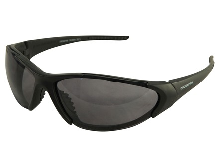 Crossfire Blitz Sunglasses Matte Black Frame Smoke Lenses