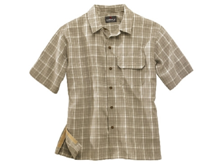 Woolrich Elite Discreet Concealed Carry Short Sleeve Shirt Synthetic Blend