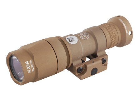 Surefire M300A Mini Scout Light Weaponlight LED Bulb Aluminum Tan