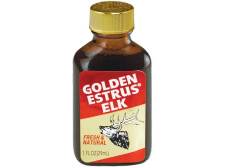 Wildlife Research Golden Estrus Elk Scent Liquid 1 oz
