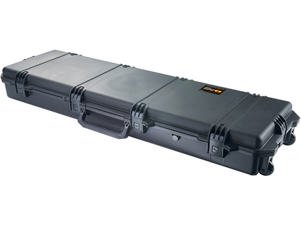 "Pelican Storm 3300 Scoped Rifle Case with Solid Foam Insert and Wheels 53"" Polymer"