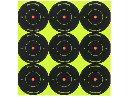 "Birchwood Casey Shoot-N-C 2"" Bullseye Reactive Target Package 108"