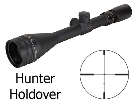 Sightron SII Rifle Scope 4.5-14x 42mm Hunter Holdover Reticle Matte