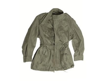 Military Surplus Belgian M88 Field Jacket Olive Drab