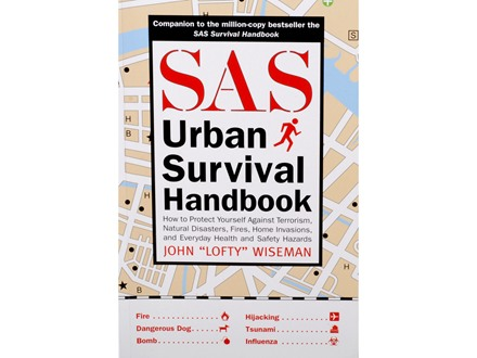 """SAS Urban Survival Handbook"" Book by John ""Lofty"" Wiseman"