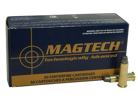 Magtech Sport Ammunition 38 Special 158 Grain Lead Semi-Wadcutter Box of 50