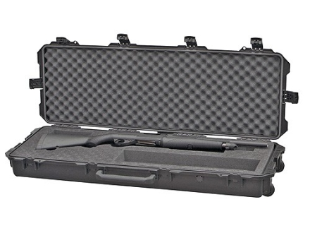 Pelican Storm 3200 Scoped Rifle Gun Case with Solid Foam Insert and Wheels Polymer