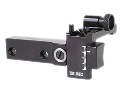 Williams 5D-510 Receiver Peep Sight Remington 510, 511, 512, 513, 521T Aluminum Black