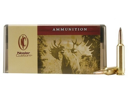 Nosler Custom Ammunition 6.5mm-284 Norma 125 Grain Partition Spitzer Box of 20