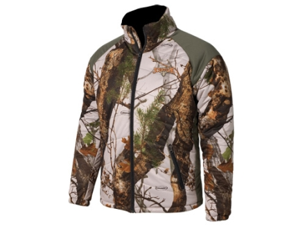 Scent-Lok Men's Hot Shot Insulated Jacket Polyester Vertigo Gray Camo XL 46-48