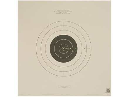 NRA Official High Power Rifle Target SR-21 100 Yard Rapid Fire Paper Package of 100