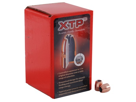 Hornady XTP Bullets 9x18mm (9mm Makarov) (365 Diameter) 95 Grain XTP Jacketed Hollow Point Box of 100