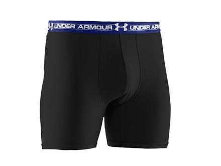 "Under Armour Men's 6"" Mesh Boxerjock Underwear Synthetic Blend"