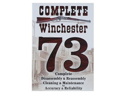 "Competitive Edge Gunworks Video ""Winchester 73 Complete Disassembly and Reassembly, Cleaning and Maintenance"" DVD"