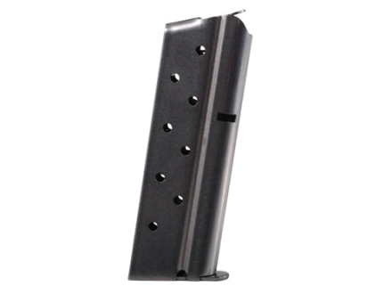 Metalform Magazine 1911 Officer 9mm Luger 8-Round Stainless Steel Flat Follower Welded Base