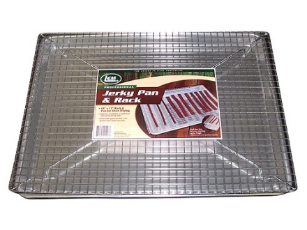 "LEM Jerky Pan with Rack 18' x 13"" Steel"