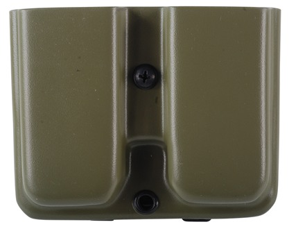 Blade-Tech Double Magazine Pouch Right Hand Single Stack Magazines Tek-Lok Kydex Olive Drab