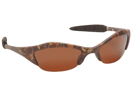 Mossy Oak Half Sport Polarized Sunglasses Polymer Frame Mossy Oak Break-Up Camo