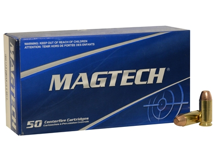 Magtech Sport Ammunition 40 S&W 165 Grain Full Metal Jacket Box of 50