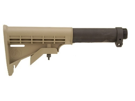 ACE M4-7 Heavy Duty Commercial Buttstock 7-Position Collapsible AR-15, LR-308 Synthetic Coyote Brown