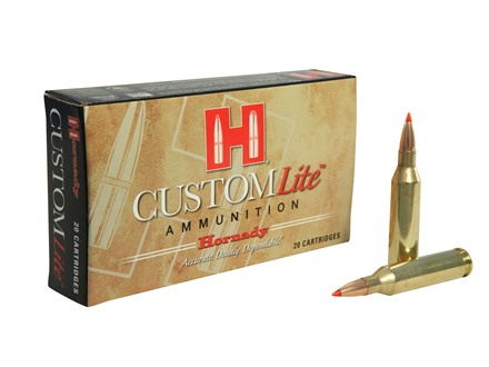 Hornady Custom Lite Ammunition 243 Winchester 87 Grain SST Box of 20