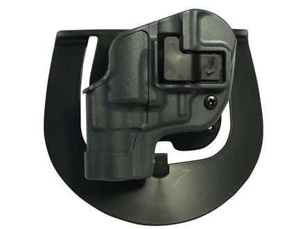 "BlackHawk Serpa Sportster Paddle Holster Left Hand S&W J-Frame 2"" Barrel Polymer Gun Metal Gray"