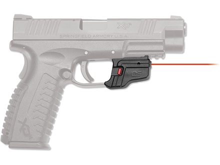Crimson Trace Defender Series Accu-Guard Laser Springfield XD, XDM Polymer Black