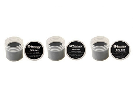Wheeler Engineering Lapping Compound Kit (1 oz each of 220, 320, 600 Grit Compound)