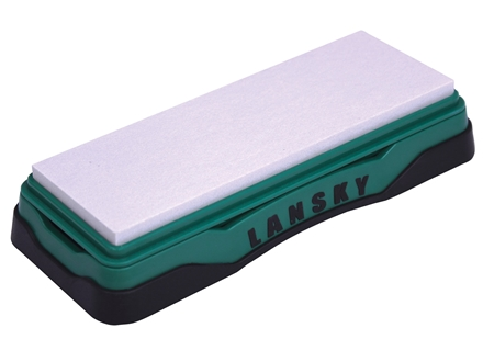 "Lansky Hard Arkansas Bench Sharpening Stone 6"" x 2"""