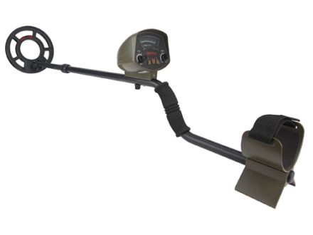 Gamo Raider Analog Metal Detector with Scoop and Carrying Bag Black