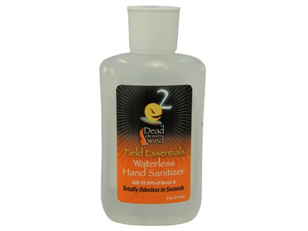 Dead Down Wind e2 Odorless Hand Sanitizer 4 oz