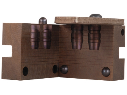 Saeco 2-Cavity Bullet Mold #418 41 Remington Magnum (411 Diameter) 220 Grain Semi-Wadcutter Bevel Base