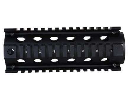 GMG 2-Piece Handguard Quad Rail AR-15 Carbine Matte