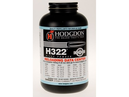 Hodgdon H322 Smokeless Powder