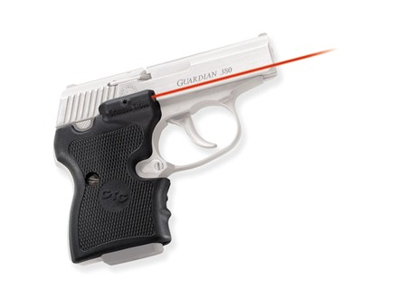 Crimson Trace Lasergrips NAA Guardian Polymer Black