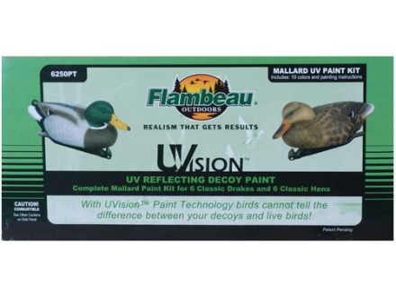 Flambeau Uvision Decoy Paint Kit Mallard