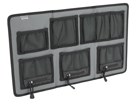 LOCKDOWN Hanging Organizer Large Gray and Black