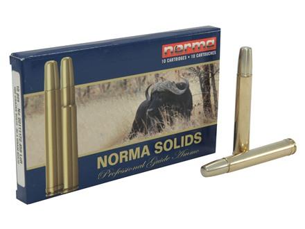 Norma Solid Ammunition 458 Lott 500 Grain Solid Box of 10