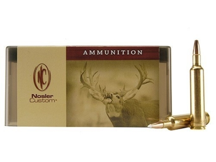 Nosler Custom Ammunition 257 Weatherby Magnum 110 Grain AccuBond Spitzer Box of 20