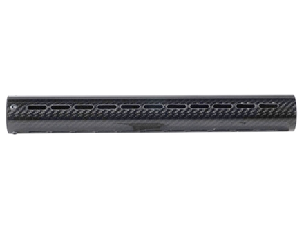 "AP Customs Free Float Tube Handguard AR-15 Extended 15"" Rifle Length Carbon Fiber Black"