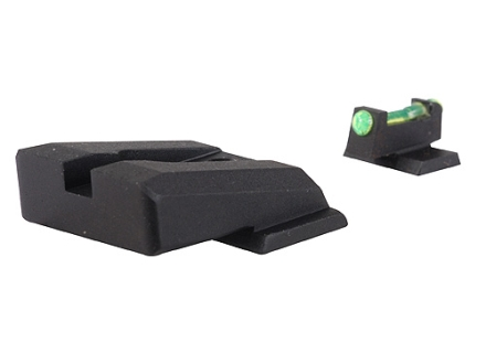 Novak Competition Sight Set S&W M&P Pro, 9L Rear with Fiber Optic Front Green