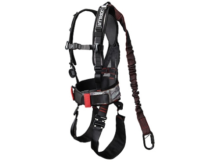 Gorilla Treestands G30 Treestand Safety Harness Nylon Mossy Oak Treestand Camo