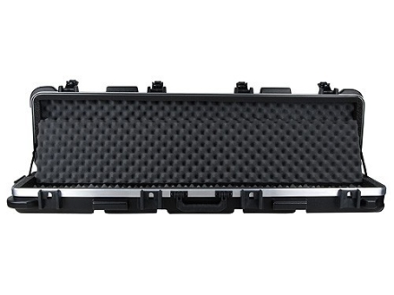 "SKB ATA Double Scoped Rifle Gun Case with Wheels for Guns up to 50"" Polymer Black"