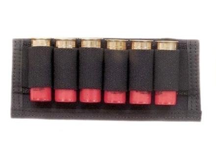 Hunter Ruffstuff Belt Slide Shotshell Ammunition Carrier 6-Round Nylon Black
