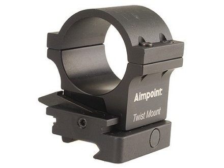Aimpoint 30mm TwistMount Ring with Integral Picatinny-Style Base for 3x Magnifier Matte High