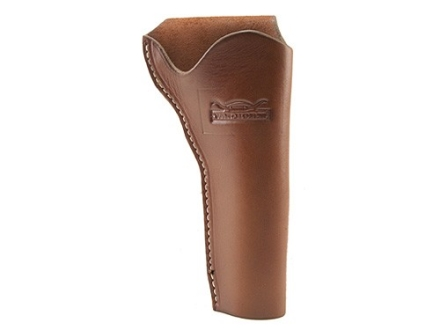 "Van Horn Leather Strong Side Slim Jim Holster 4.75"" Single Action Right Hand Leather Chestnut"