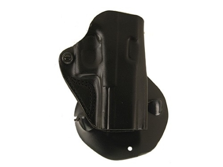 DeSantis Top Cop Paddle Holster Right Hand Glock 19, 23 Leather Black